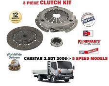 pour Nissan Cabstar F24 2.5Dt CAMION YD25DDTI 2006-2011 3 pièces Kit embrayage