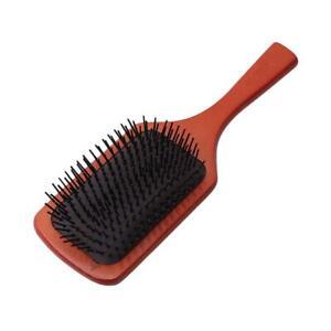 Wooden Hair Brush Anti-static Wood Hair Comb Short Paddle Massage Hair Comb BB