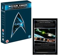 STAR TREK 1994-2002 - MOVIES 7-10 THE NEXT GENERATION  Remastered UK DVD not US