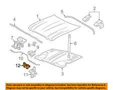 JAGUAR OEM 03-09 XJ8 Hood-Lock Latch C2C3123