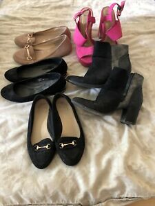 ladies shoe/boot  bundle size 6 New look Emma