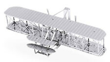 3-D Laser Cut Model - Wright Flyer Amazingly Detailed DIY Model METAL MARVEL-WBF