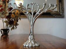 Kerzenleuchter Baum Chanukkia Silber Davidleuchter Menora Kerzenhalter Edel NEU