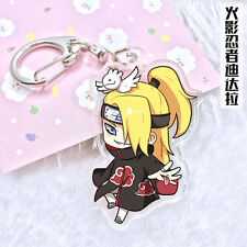 Key Chain Japan Anime NARUTO Deidara Cute Key Buckle Gift Cosplay