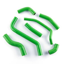 For Kawasaki KX450F KXF450 2009-2014 Green Coolant Silicone Radiator Hose Kit