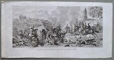 NAPOLEONE. Spagna. BATTAGLIA D'OCCANA IL 19 NOVEMBRE 1809.  De Norvins, ca1840.