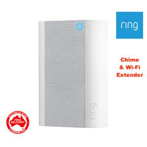RING Video Door Bell -INDOOR CHIME, NIGHTLIGHT & Wi-Fi Extender- -FREE DELIVERY