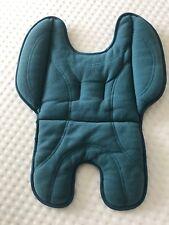 Ocean Blue Infant Insert for Strider Compact & Plus Pram reversible Black