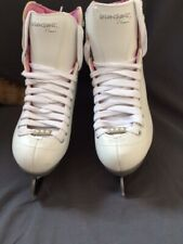 New listing Riedell Ladies' Model 114 Pearl with Luna Blades size 4 M ( gently used)