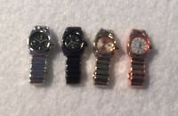 Dolls House Miniature 1/12th Scale Set of 4 Watches Various Colours