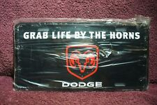REPRODUCTION DODGE RAM  LICENSE PLATE DISPLAY SIGN GARAGE MAN CAVE ACCESSORY 2