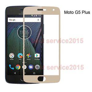 9H Full Covered Tempered Glass Screen Protector For Motorola Moto G5 / G5 Plus