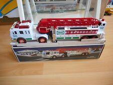 Hess Fire Truck in White in Box
