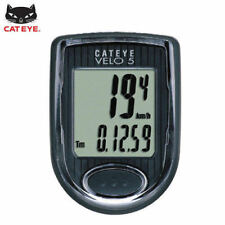 CATEYE Bike Bicycle Cycling Odometer Speedometer Passometer Waterproof VELO5_0C