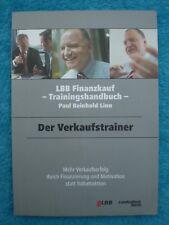 DER VERKAUFSTRAINER Paul Reinhold LINN Verkauf Erfolg Motivation 9783000249112