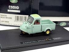 Ebbro 1/43 - Daihatsu Midget MP4 1959 Verte