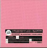 BLACKPINK-IN YOUR AREA-JAPAN 2 CD+DVD+BOOK Ltd/Ed R38