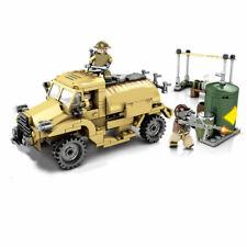 Military Soldiers Tank Equipment Building Blocks Set Bricks Models Figures Toys