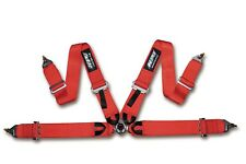 HPI 4 Points Racing Seat Harness, Red, Left