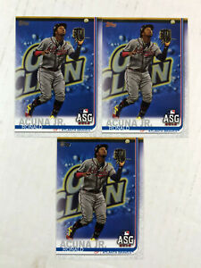 RONALD ACUNA JR LOT OF 3 2019 Topps Update ASG RC's #US220! CHECK MY ITEMS!