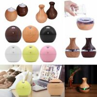 Ultrasonic Touch Aroma Humidifier USB LED Essential Oil Diffuser Air Purifier