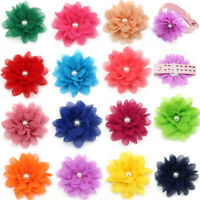 Pet Puppy Dog Cat Collar Accessories Dog Flower Charms for Party Wedding Holiday
