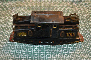 American Flyer 1218 PreWar Electric Locomotive w/ Brass Plates for Parts Restore