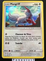 Carte Pokemon MANGRIFF 132/181 Holo Soleil et Lune 9 SL9 FR NEUF