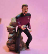 Star Trek Commander Riker Hallmark Ornament 1996 never displayed No Box