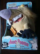 Chomping Norbert: Angry Beavers (1998, Mattel) Nickelodeon - Stuffed Action Toy