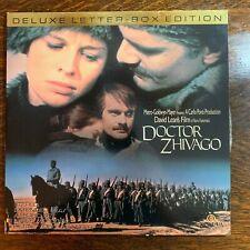 Laser Disc ~ Doctor Zhivago ~ Omar Sharif