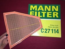 NEW BMW E82 E90 E92 128i 328i 328xi 330i etc Air Filter OEM MANN 13717542294