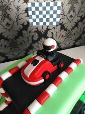 Go Kart Cake Topper Edible Fondant
