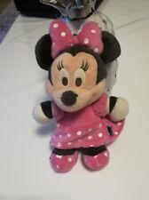 peluche doudou MINNIE robe rose à pois blancs Disney SIMBA DICKIE NICOTOY 30 cm
