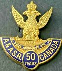 ANCIENT AND ACCEPTED SCOTTISH RITE OF FREE MASONRY A.& A.S.R. SERVICE LAPEL PIN