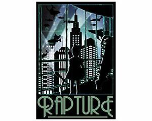 Rapture Travel Bioshock Wall Decor Poster [No Framed]