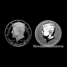 2018 S Kennedy Half Dollar Reverse Silver and Silver Mint Proof from Proof Set