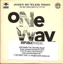 "John Butler Trio ""One Way Road"" 2010 DJ CD"