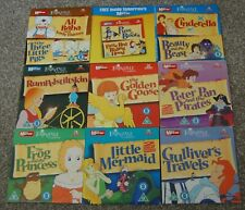 12 FAIRYTALE CLASSSICS on 9 DVD'S - PETER PAN / RUMPELSTILTSKIN / CINDERELLA ect