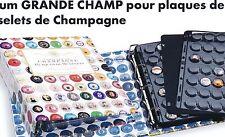 ALBUM GRANDE CHAMP42 pour Muselets de Champagne avec 5 recharges