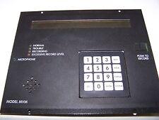 EST / IRC-3 EDWARDS EST MVM Multiple Voice Message Rack Mount Display  FCC