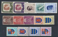 Luxemburg Jahrgang 1957 postfrisch in den Hauptnummern kompl....................