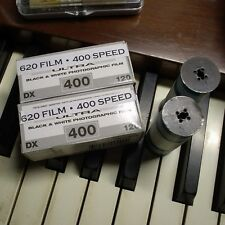 620 FILM B&W 400 speed film 2 ROLLS FRESH FOR KODAK!!