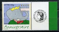 TIMBRE PERSONALISE N° 3927A **  BABAR / LOGO CERES