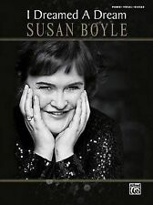 NEW Susan Boyle -- I Dreamed a Dream: Piano/Vocal/Guitar by Susan Boyle