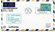FFC 1970 Lufthansa First Flight Boeing 747 LH 401 New York USA Hamburg