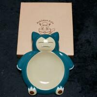 Pokemon Cafe Limited Snorlax Type Plate Japan import NEW Pocket Monster