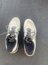 Nike FI Impact Golf Shoes Mens Size 9 Light Grey Black (FAST SHIPPING)
