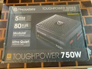 Thermaltake Toughpower 750W Modular ATX Power Supply 80 Plus Gold Active PFC