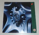 Prospecto Mgf / MG F Stand 03/1999